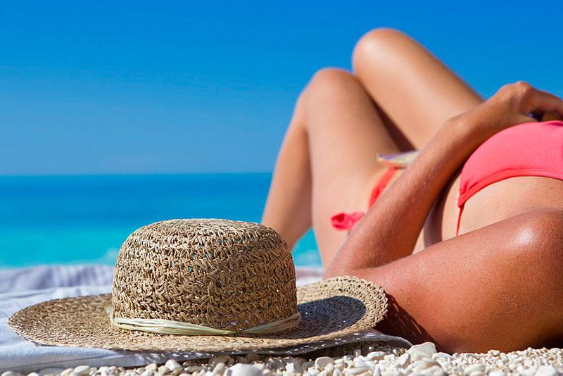 Il sole sulla pelle: benefici e danni